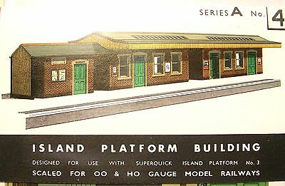 Sq4  Superquick Island Platform Buildings   A4