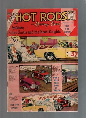 Hot Rods and Racing Cars #56 and #58 lot of 2