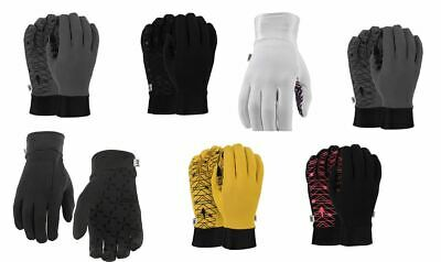 POW Men's Women's Poly Pro Liner Gloves Tech Touch New