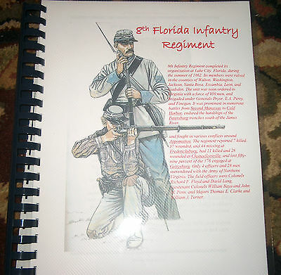 Civil War History of the 8th Florida Infantry Regiment