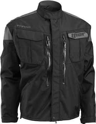 2017 Thor Mx Black Charcoal Phase Offroad Jacket Zip Off Sleeves Dirt M L Xl 2Xl