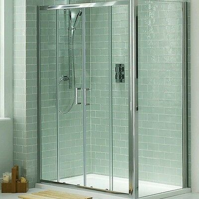 victoria plumb 1400 w x 1850 h double sliding shower. Black Bedroom Furniture Sets. Home Design Ideas