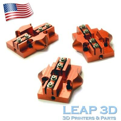 Aluminum Slider Pulley, SET OF 3 PCS for Reprap 3D Printer Kossel Mini Delta