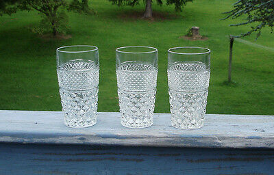 Set Of 3 Wexford Ice Tea Glasses 10 Ounces Each Anchor Hocking