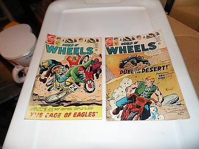 World of Wheels #21 and #23 Lot of 2 books Charlton
