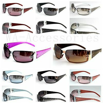 New DG Mens Womens Rectangular Rimless Designer Sunglasses Shades Eyewear (5024)