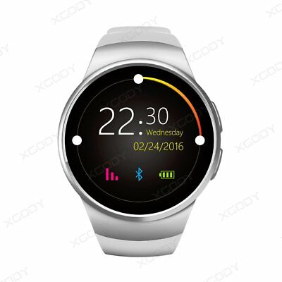 KW18 Waterproof Bluetooth Smart Watch Phone Mate SIM GSM For iPhone Android LG
