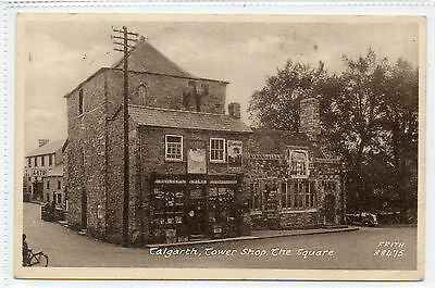 Wales : Talgarth, Tower Shop, The Square