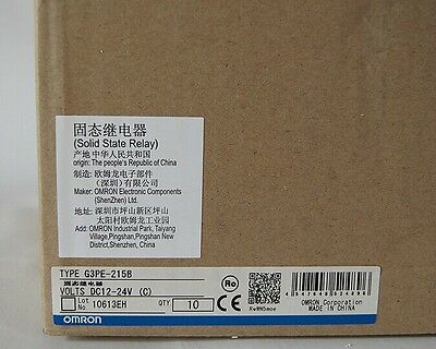 1PCS New Omron Solid State Relay G3PE-215B