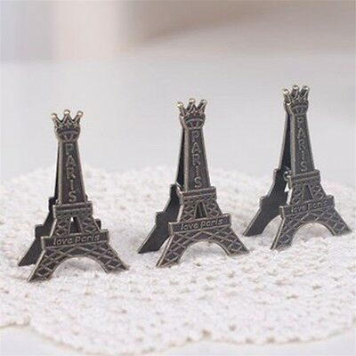 Creative Transmission Tower Retro Message Tower Holder Clip Table Decoration