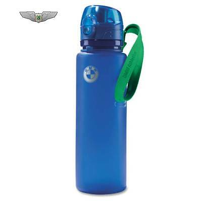 BMW New Genuine Athletics Sports Drinks Water Bottle (Royal Blue) 80232361130