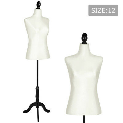 Female Mannequin 168cm Model Dressmaker Cloth Display Torso Tailor Size12