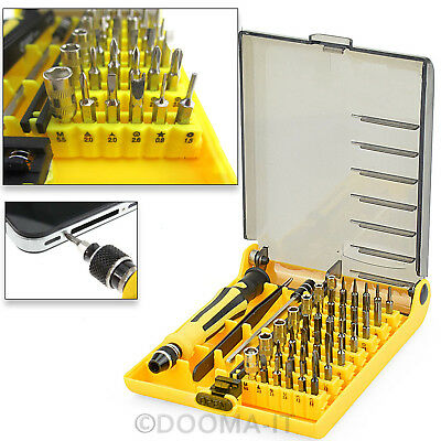 45 in 1 Precision Hex Torx Star Screwdriver Set PC Mobile Phone Repair Tool Kit