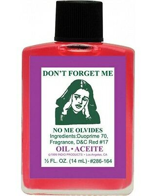 DON'T Forget ME Ritual Oil Anoint Candles Spells Wicca pagan Santeria Witchcraft