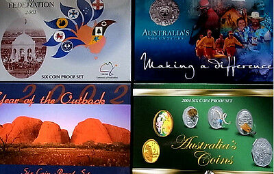Australia Empty Proof Set Boxes 1989-2014 Replace & Renew