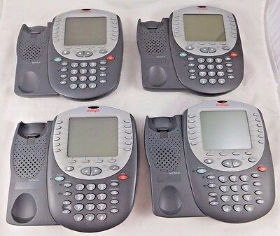 Lot of 10 Avaya 4621SW IP VoIP Office Desk Phone Tested Working