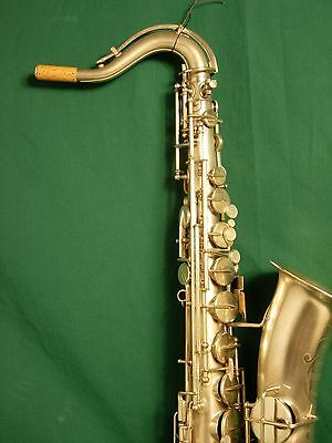 DVD VIDEO OF ME REBUILDING A  C MELODY SAXOPHONE  REPAD (with narration)