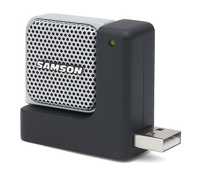 Samson Go Mic Direct Portable Laptop USB Mic, Skype, YouTube
