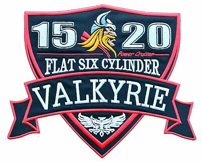 Valkyrie XL IRON ON PATCH Aufnäher Parche brodé patche toppa F6C 1520 RIDERS