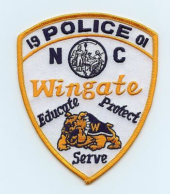 Wingate Police, North Carolina, USA Shoulder/Uniform Flash/Patch