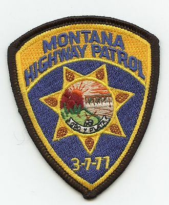 Montana Highway Patrol, USA Police Uniform Badge/Patch