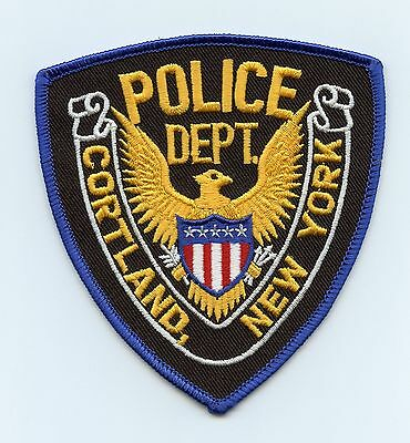 Cortland Police, New York, USA Shoulder/Uniform Flash/Patch