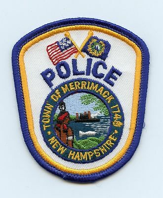 Merrimack Police, New Hampshire, USA Police Sm. Uniform Badge/Patch