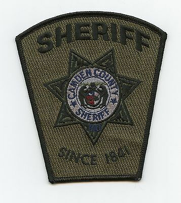 Camden County Sheriff, Missouri, USA Police Green Tactical Shoulder Flash/Patch