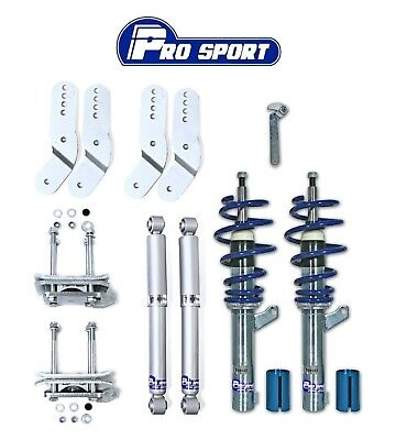 Vw Caddy Mk3 2K Coilovers - Adjustable Coilover Suspension Lowering Kit