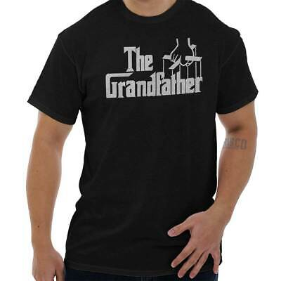 The Grandfather Fathers Day Gift Idea The Godfather T-Shirt