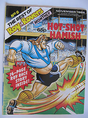 The Best of Roy of the Rovers No. 8 (November 1988) Featuring Hot-Shot Hamish