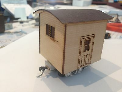 Ulrich On30 Logging Disconnect Caboose  With  Trucks & Wheel Sets All Metal