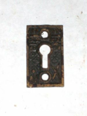 Antique Eastlake Victorian Key Hole Cover