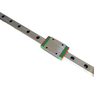 CNC part MR15 15mm linear rail guide MGN15 length 400mm with mini MGN15H block
