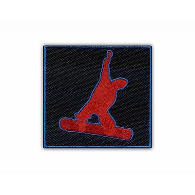 SNOWBOARD Freestyler (red) PATCH/BADGE