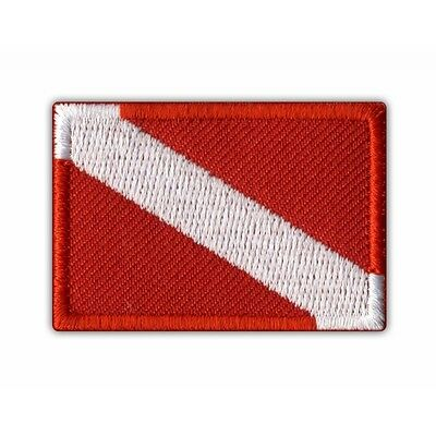 Diving flag PATCH/BADGE