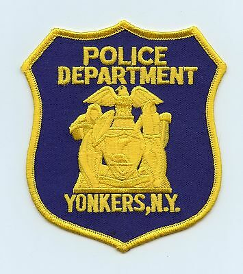 Yonkers Police Department, New York, USA, HTF Vintage Shoulder Flash/Patch