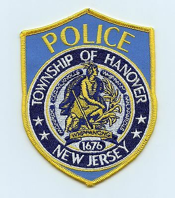 Township of Hanover Police, New Jersey, USA, HTF Vintage Shoulder Flash/Patch