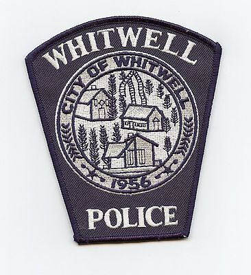Whitwell Police, Tennessee, USA Shoulder Flash/Patch