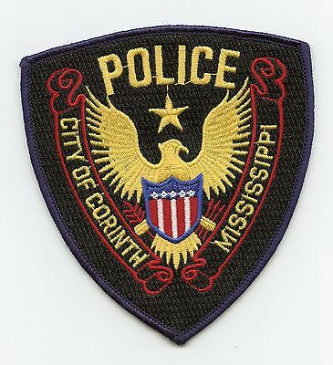 Corinth Police, Mississippi, USA Shoulder Flash/Patch