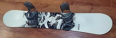 Force Australia - Warrior 158 Snowboard With Bindings - New Free Post