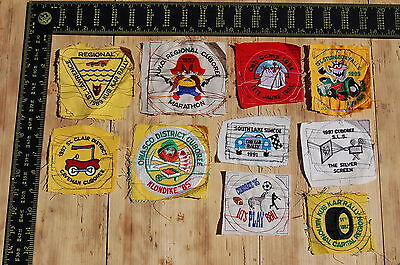 Lot of 10 Wolf Cubs Canada RARE Vintage Sample Patches/Badges #4