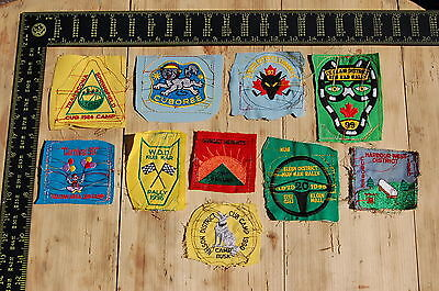 Lot of 10 Wolf Cubs Canada RARE Vintage Sample Patches/Badges #5