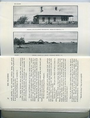 1915 Magazine 'the Inlander' Aim Hergott Springs School/beltana School Sa T6
