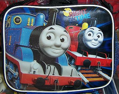 THOMAS TRAIN & FRIENDS TANK ENGINE LUNCH BAG Lunchbag Box Case Tote NEW!!