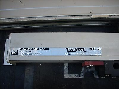 Heidenhain Corp. Linear Scale Lot of 2 Heidenhain Corp. Linear Scales Encoders