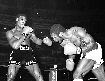 Frank Bruno Boxing Poster 2 (Sizes-A5-A4-A3-A2) + Free Surprise A3 Poster