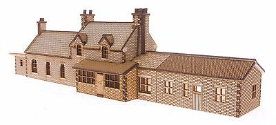"ST005 ""Hesketh"" Station Building OO Gauge Laser Cut Kit"