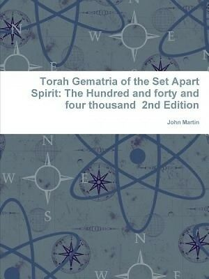 Torah Gematria of the Set Apart Spirit: The Hundred and forty and four thousand
