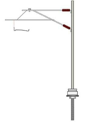 PECO LC-110  1:76 OO Scale Catenary System Mast